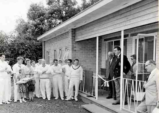 Opening of the previous pavilion in 1966